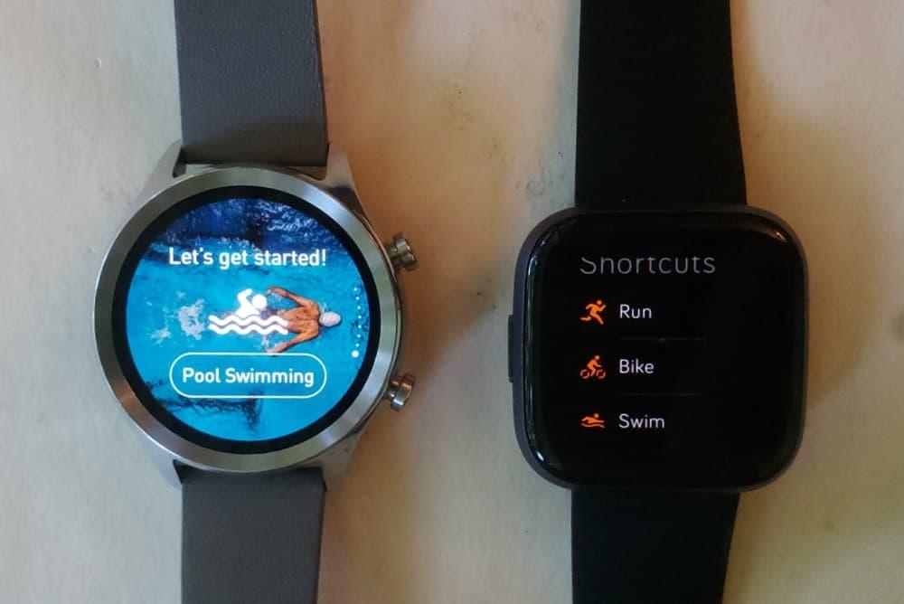 Ticwatch C2 vs Fitbit Versa 2 sports