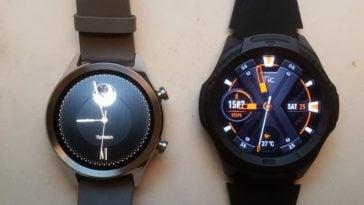 Ticwatch C2 vs Ticwatch S2