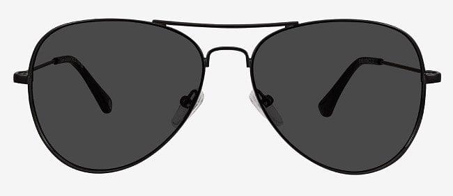 A pair of Good Vibration aviator sunglasses.