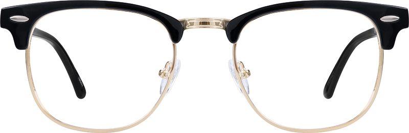 A pair of Zenni Browline Glasses.