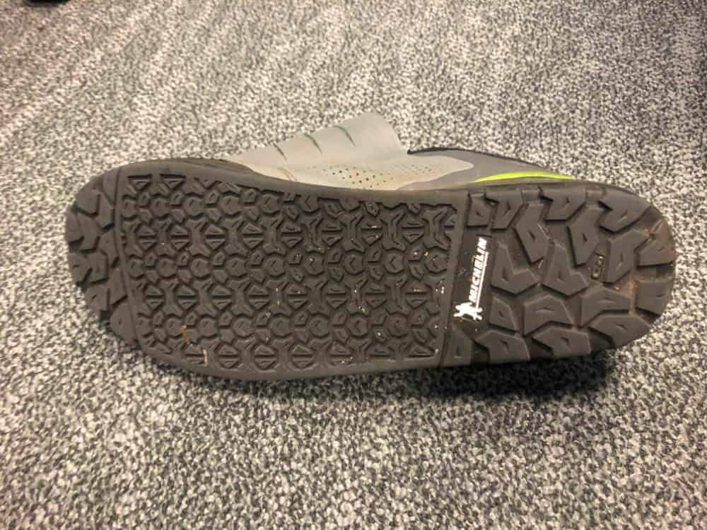 Shoe tread and grip for Shimano GR9 shoes.