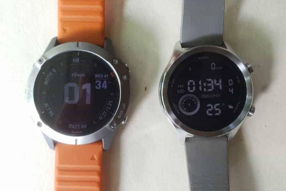 Ticwatch C2 vs Garmin Fenix 6