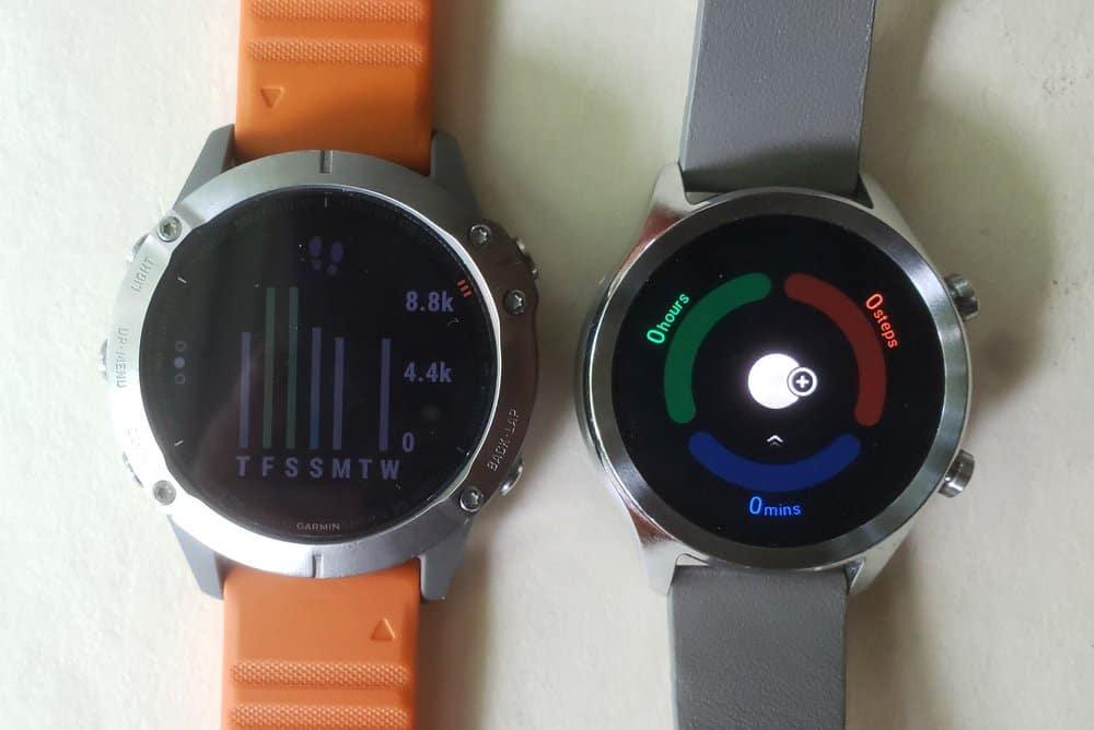 ticwatch c2 vs garmin fenix 6 step counter tichealth