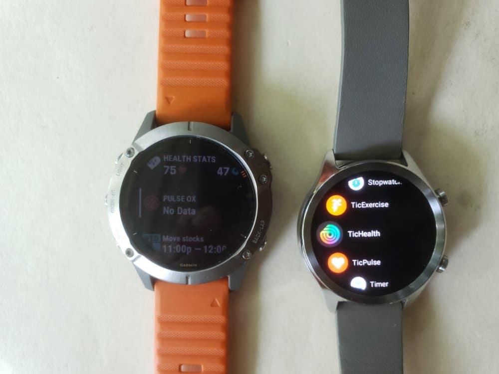 ticwatch c2 vs garmin fenix 6 apps