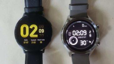 Ticwatch C2 vs Samsung Galaxy Watch/Active 2