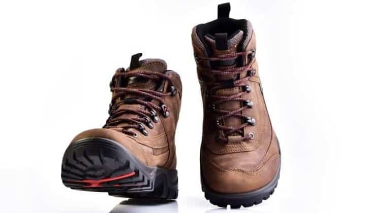 A pair of Sturdy Hiking Boots.