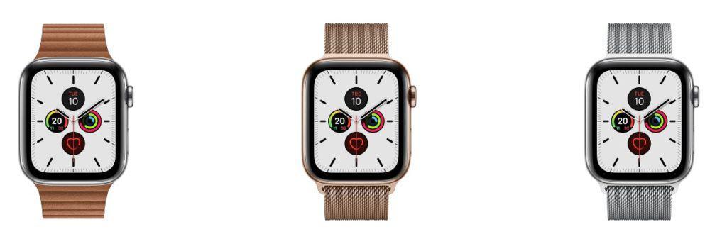 apple watch series 5 customization