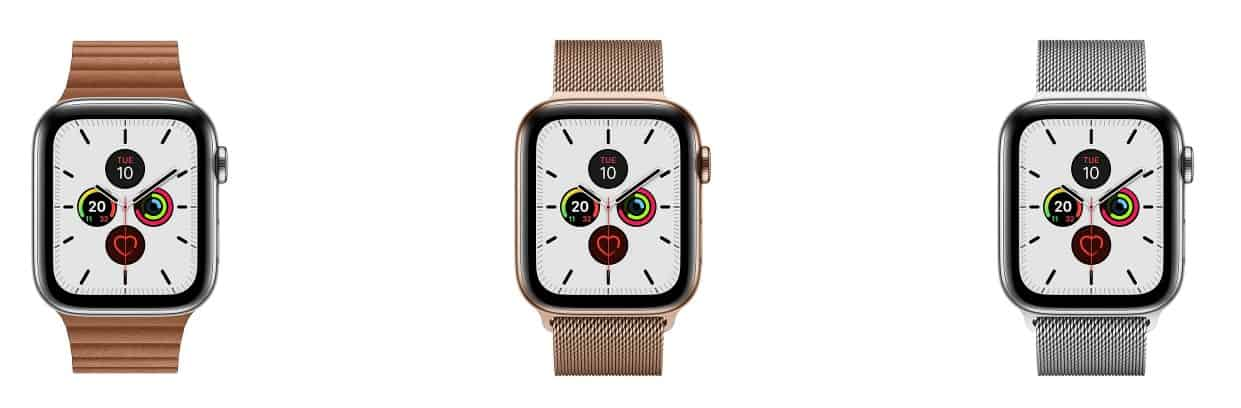 apple watch series 5 customization