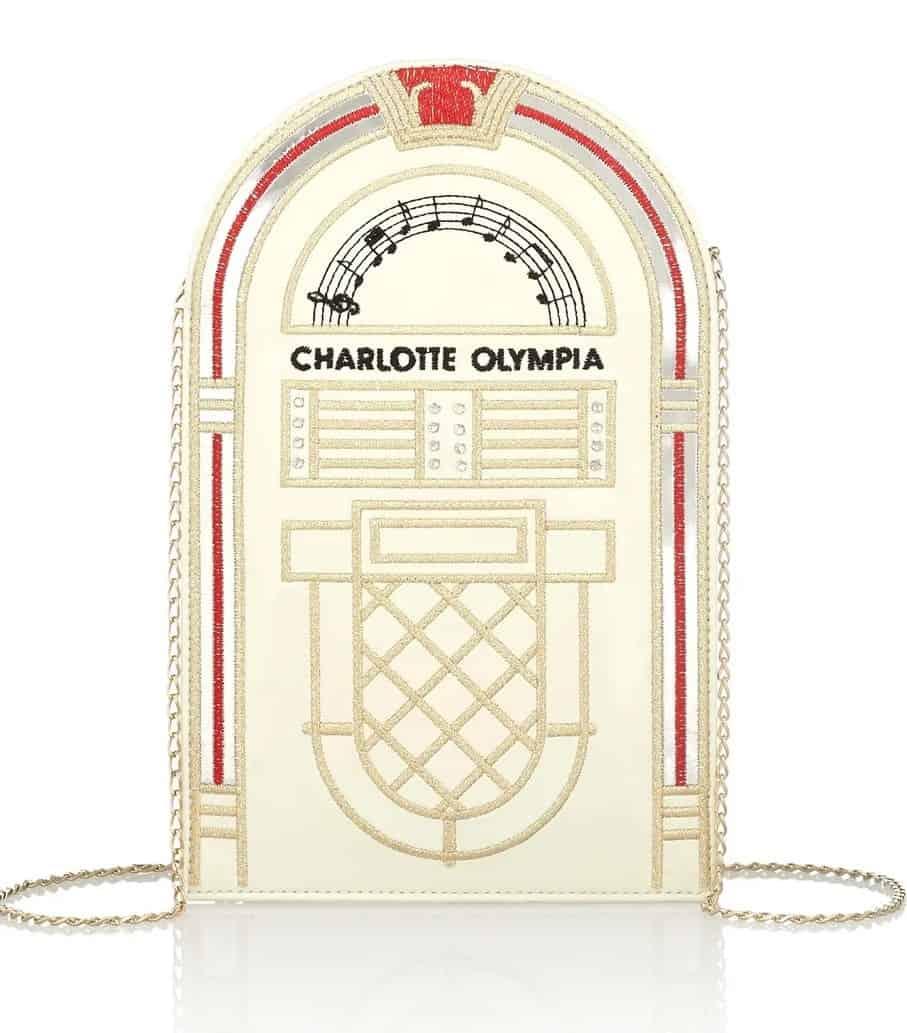 Charlotte Olympia jukebox clutch