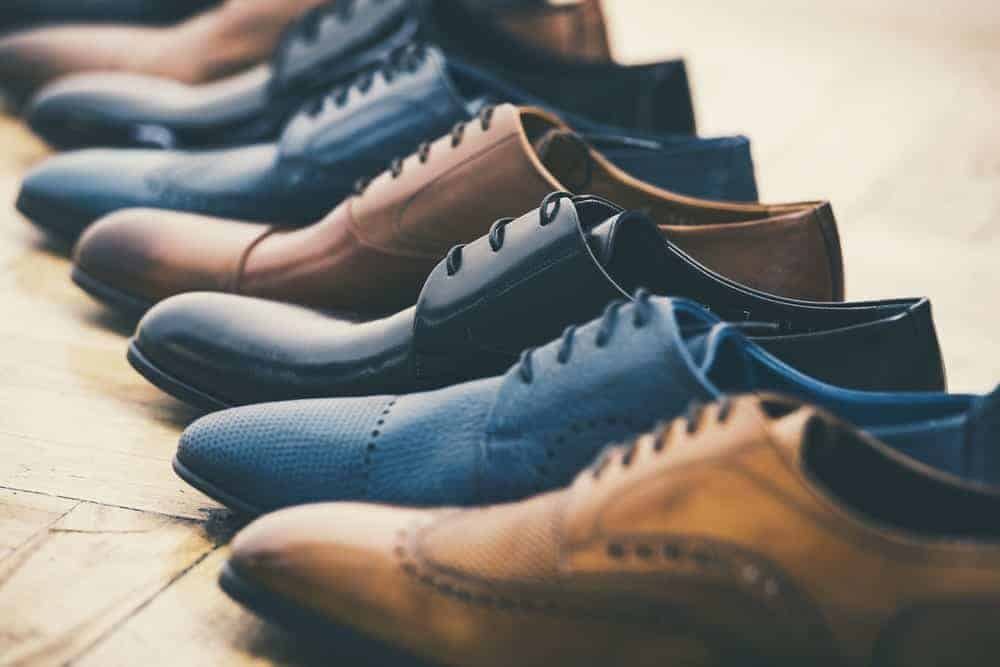 Men's collection of dress shoes