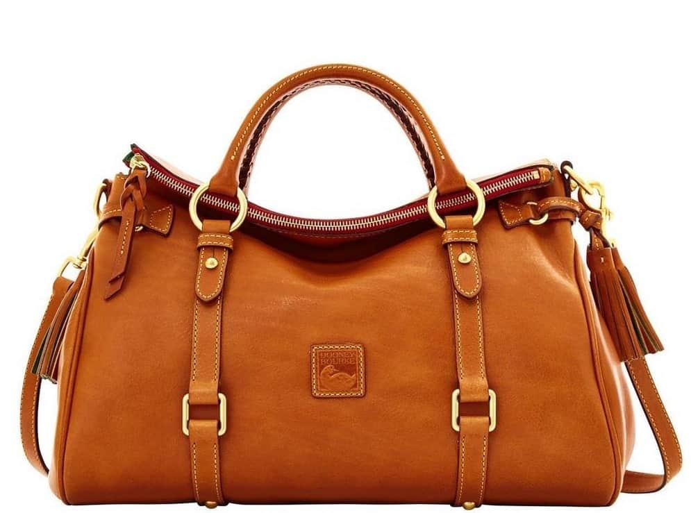 Dooney & Bourke Florentine leather satchel bag
