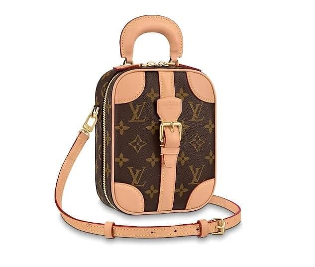 Louis Vuitton valisette verticale top handle bag