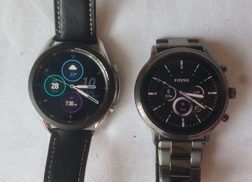 Samsung Galaxy Watch3 vs Fossil Gen 5 Carlyle