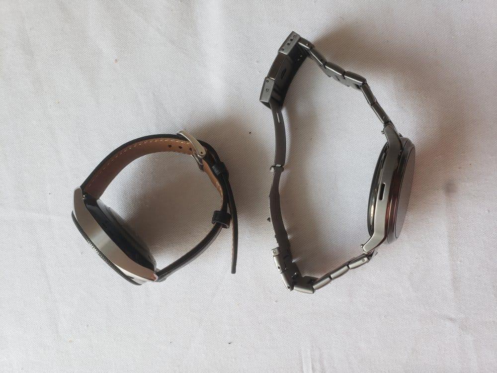 Samsung Galaxy Watch 3 vs Fossil Gen 5 Carlyle band vs strap