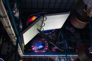 NASA space pen on display