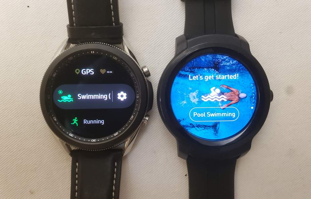 Samsung Galaxy Watch3 vs Ticwatch E2 sports