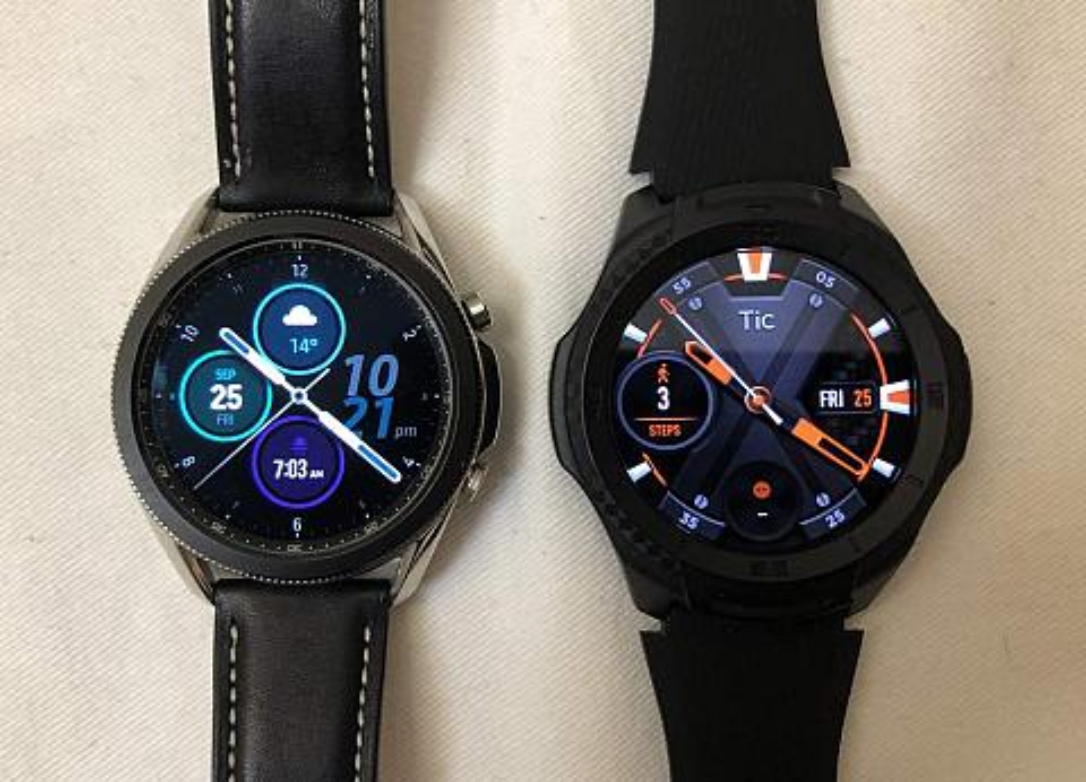 samsung galaxy watch3 ticwatch s2