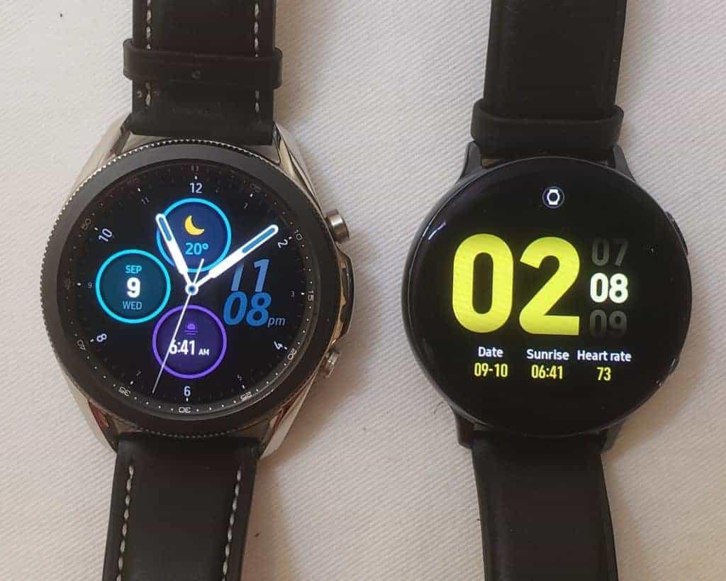 Samsung Galaxy Watch 3 vs Active2