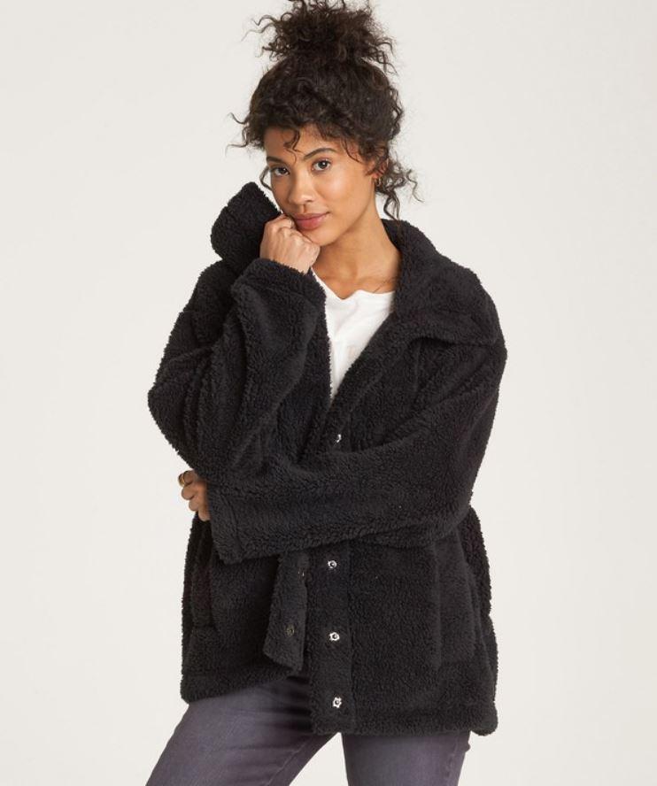 Cozy Days Sherpa Fleece Jacket from Billabong.