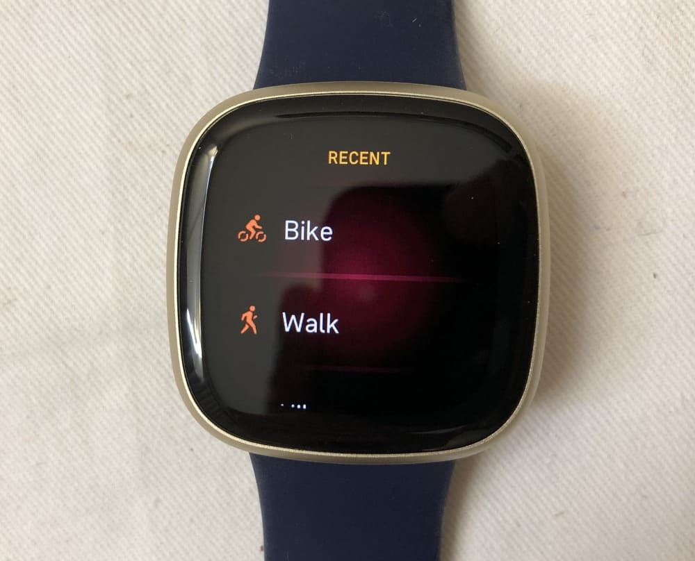 fitbit versa 3 workout