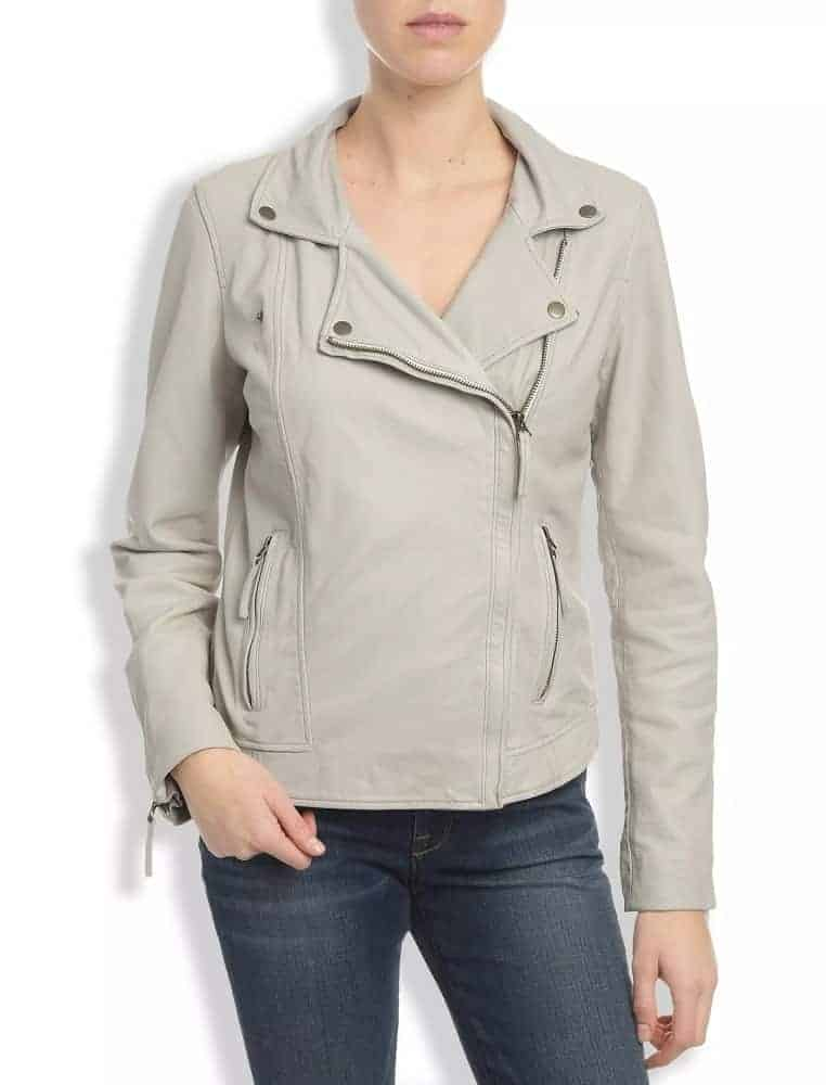 The Leather Moto Jacket from Lucky Brand.
