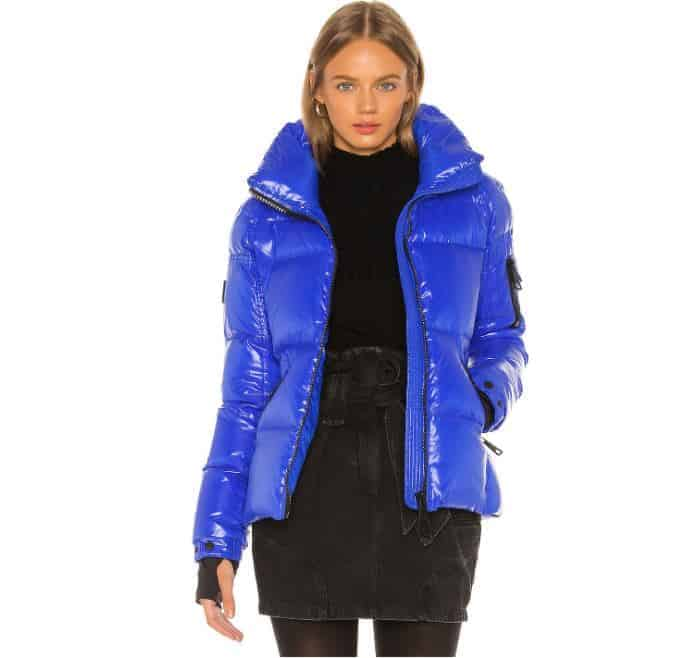 The SAM Freestyle Puffer Jacket in Light Blue from Revolve Clothing.