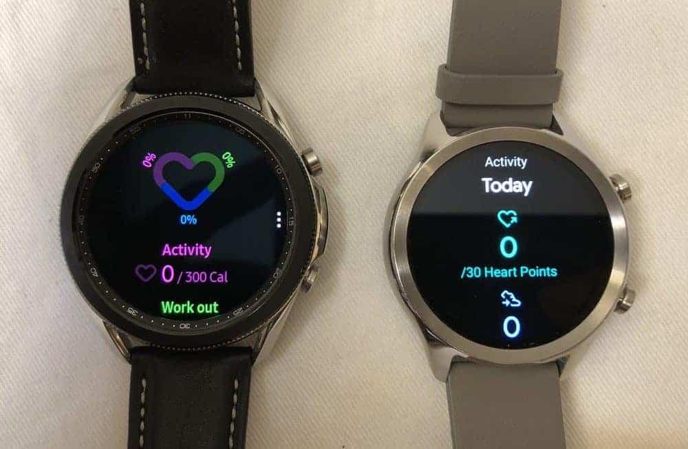 samsung galaxy watch3 vs ticwatch c2 health and sports