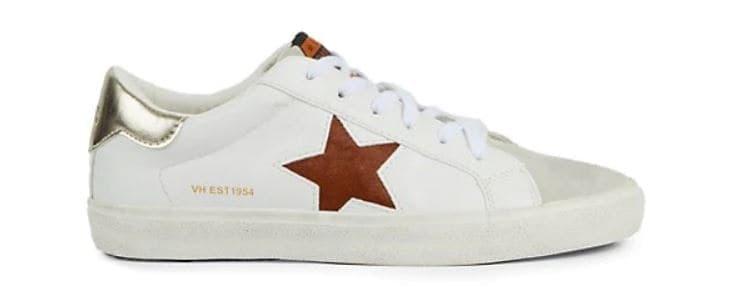 Vintage Havana Gadol Perforated Star Sneakers from Saks.