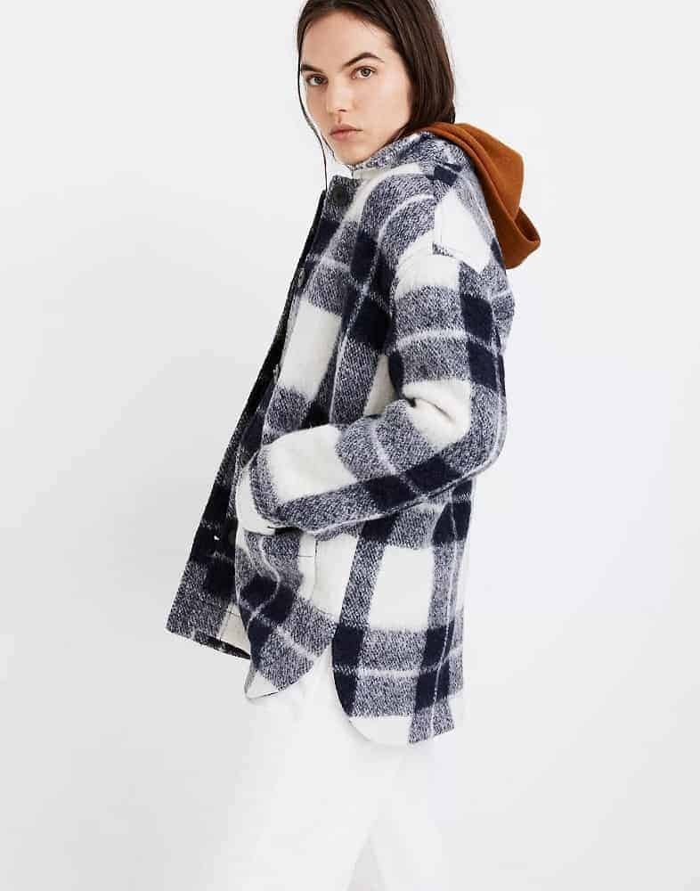 The Walton Plaid Jacket from Madewell.