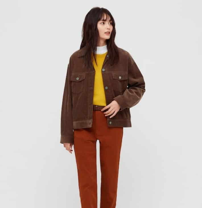 Women's Corduroy Relaxed Jacket from Uniqlo.
