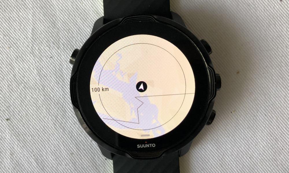 Suunto 7 vs Ticwatch E2 offline maps