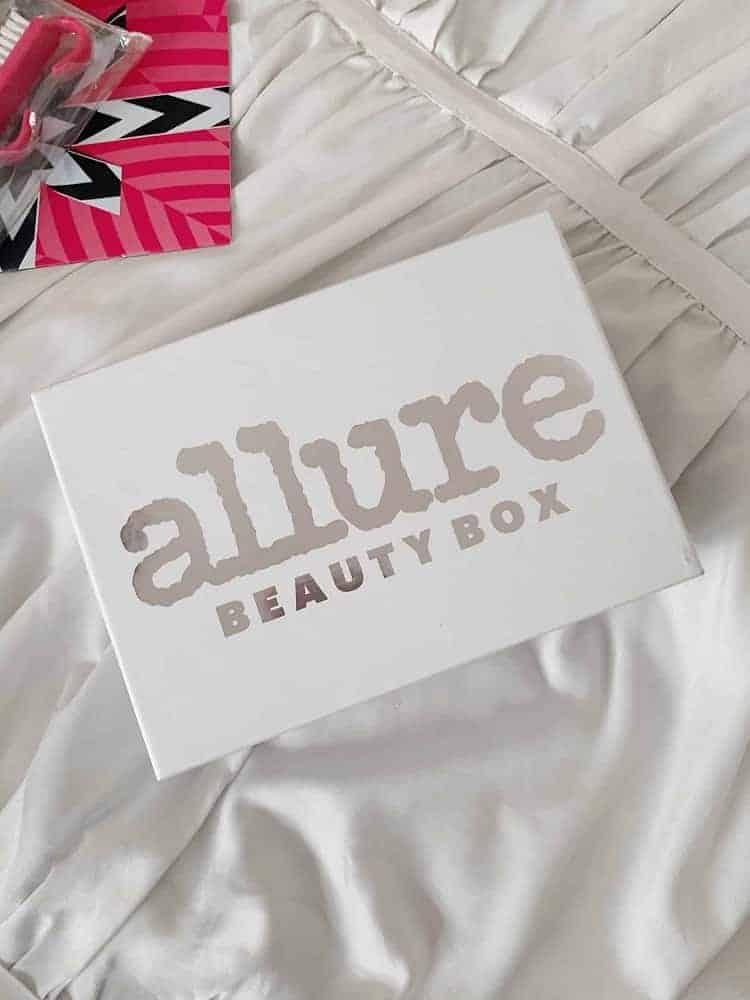 Allure beauty subscription box