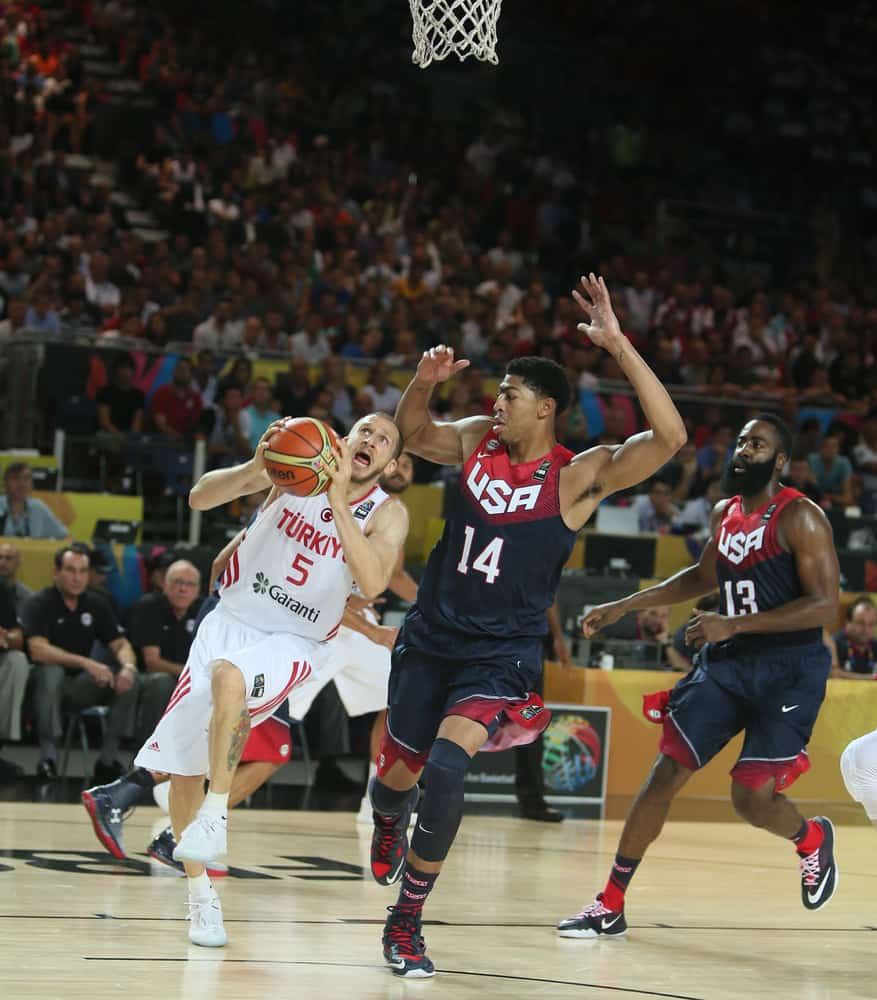 FIBA 2014 World Basketball Championship - Turkey vs. USA