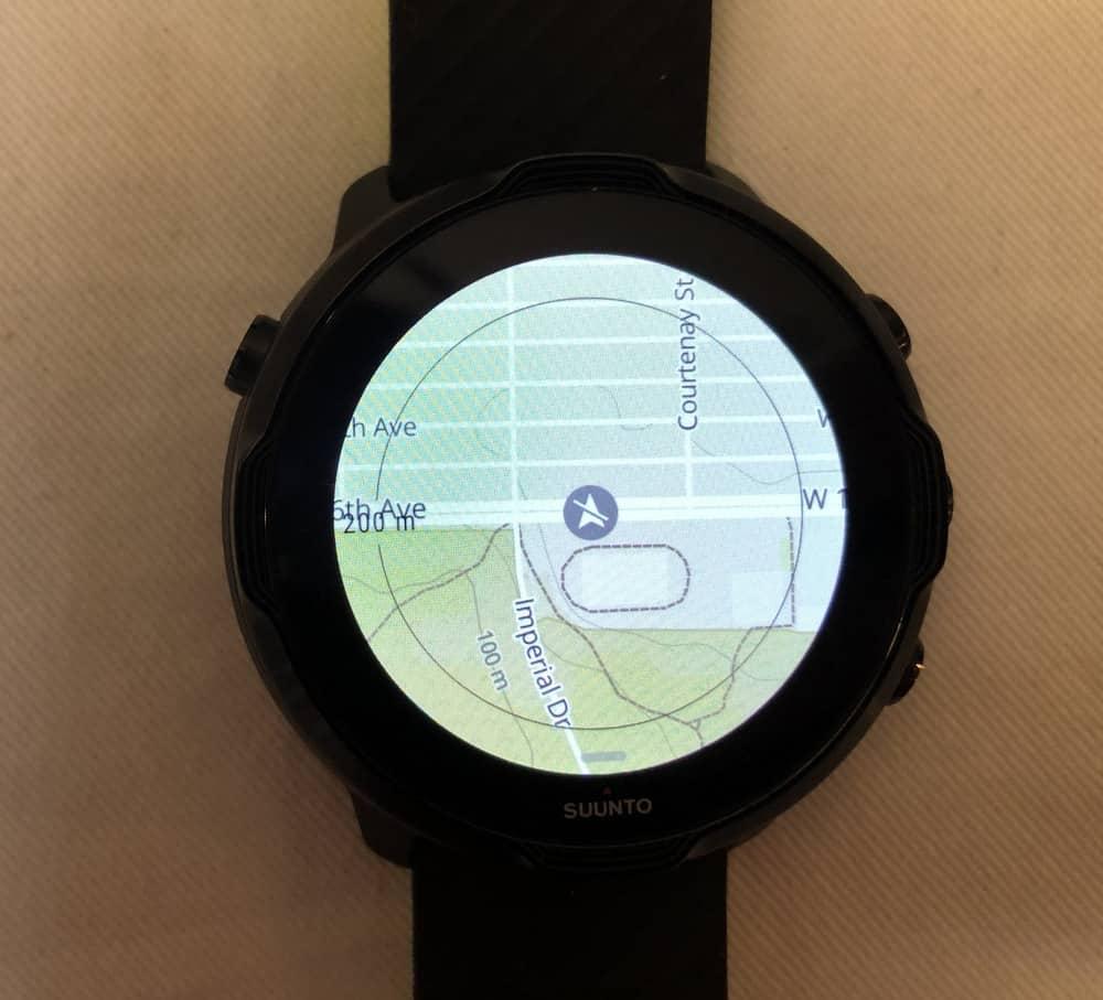 Suunto 7 vs Samsung Galaxy Watch3 offline maps