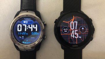 ticwatch pro vs suunto 7