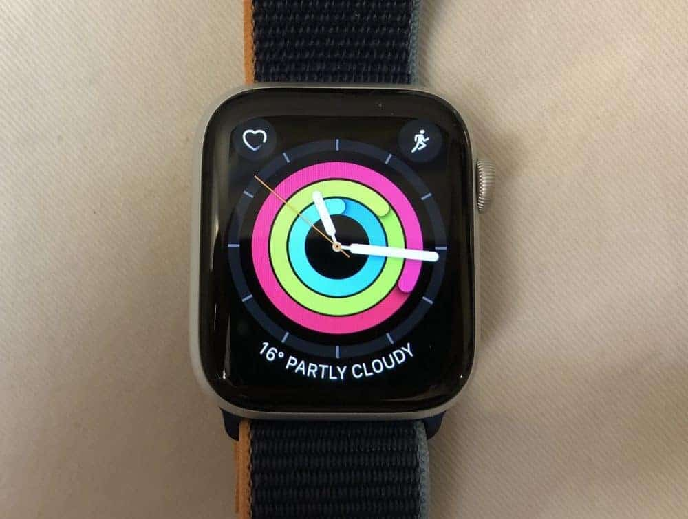 Apple Watch Series 6 main screen
