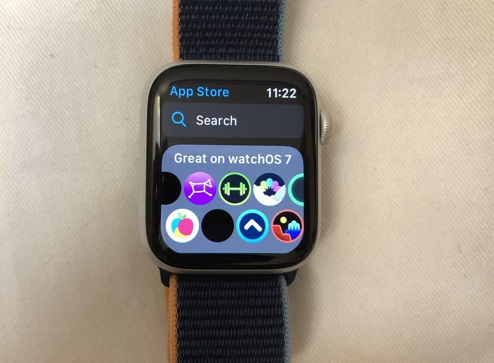 Apple Watch Series 6 apps