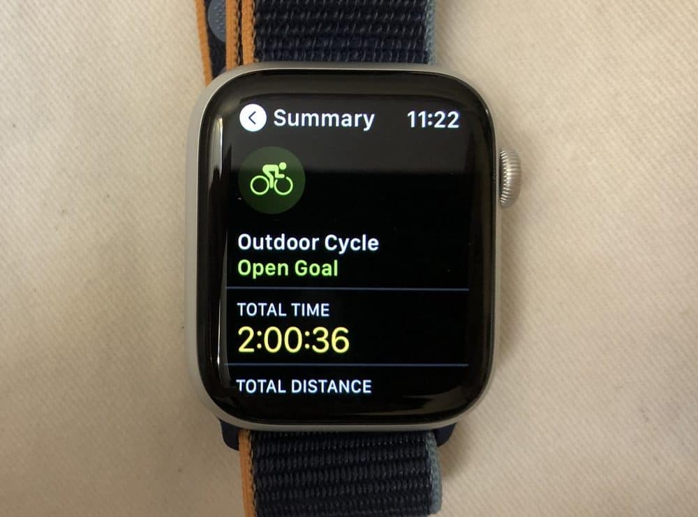 Apple Watch Series 6 workouts
