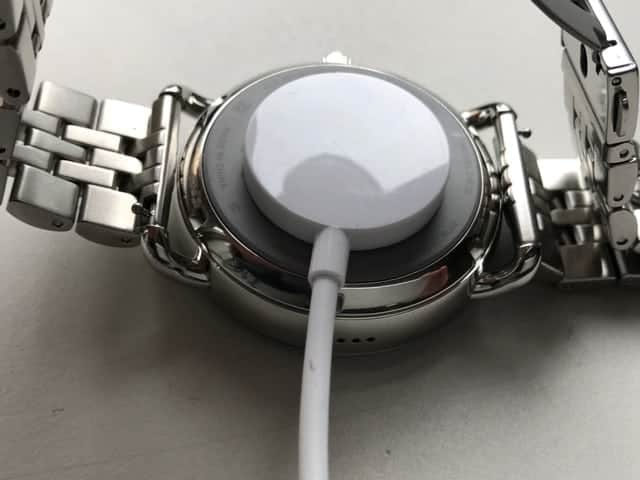 Charging attachment photo for Fossil Q Smartwatch