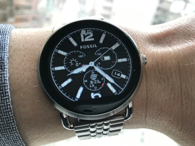 Face design for the Fossil Q Smartwatch