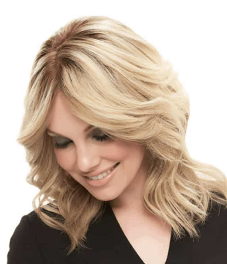 French drawn top wig