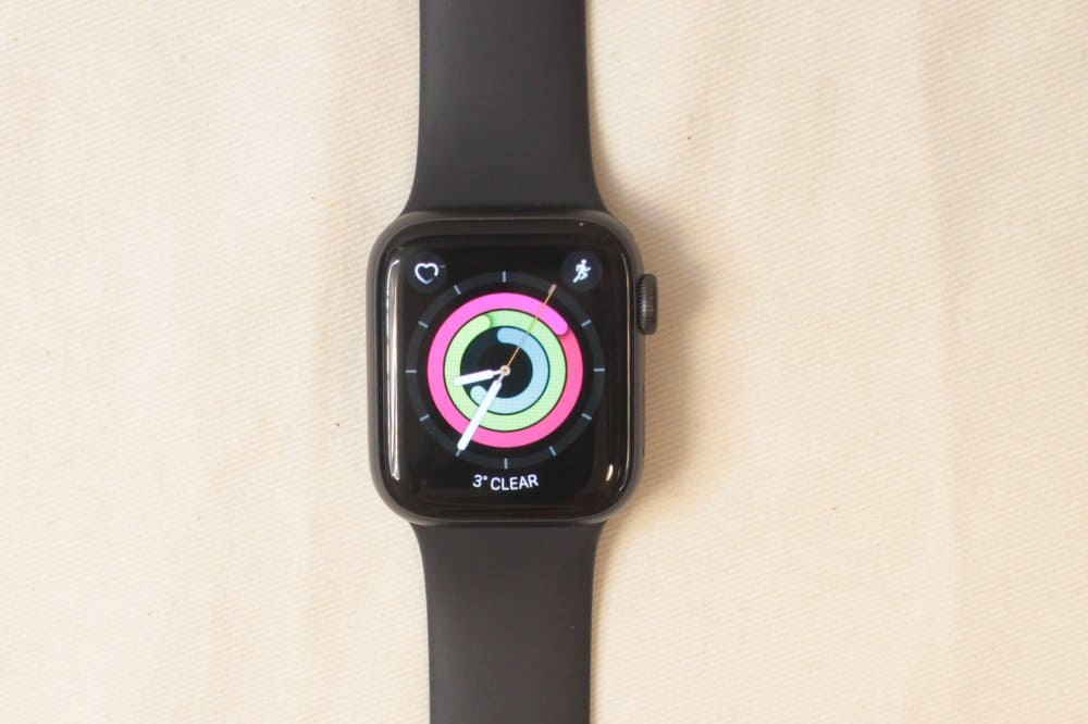 Apple Watch Series 5 watch face