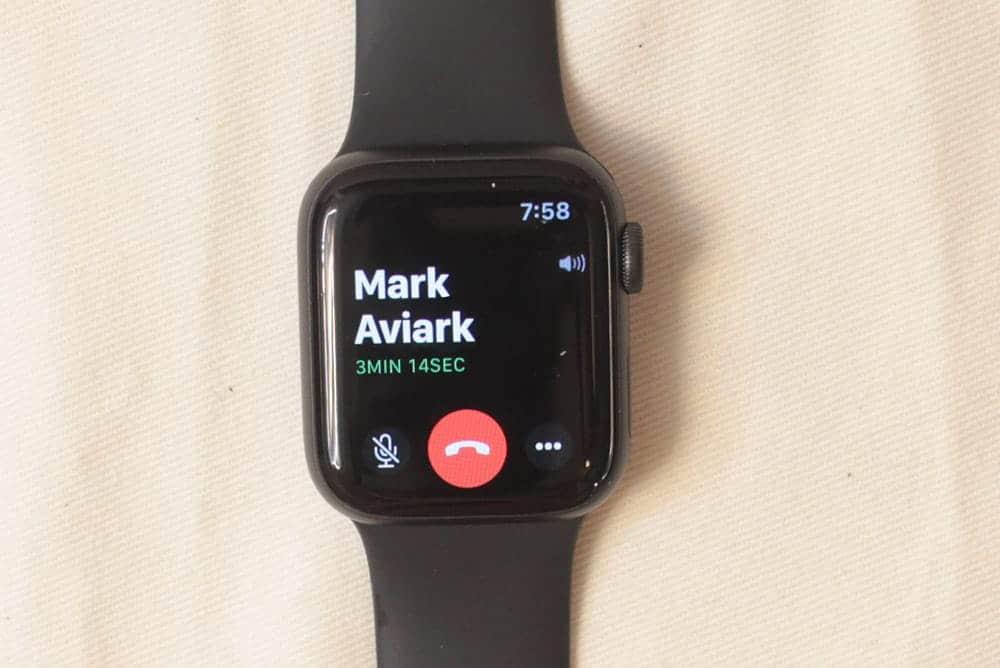 Apple Watch Series 5 calls