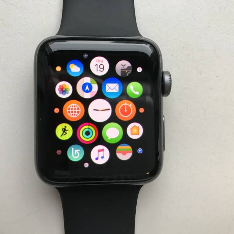 Apple watch series 2 apps.