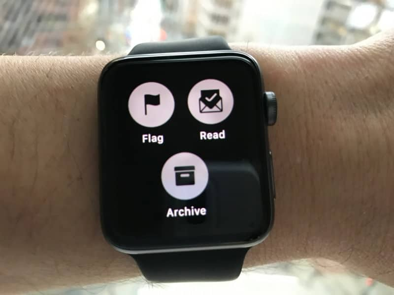 Email for Apple Watch Series 2.
