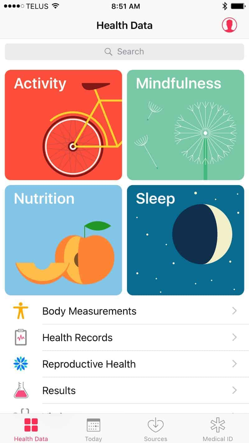 Health and Activity Apps for Apple Watch Series 2.