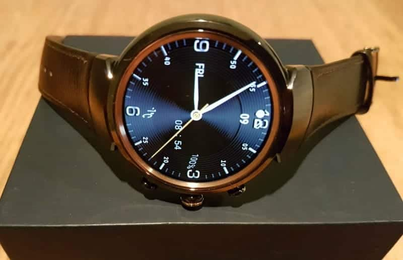 Asus Zenwatch 3 face.