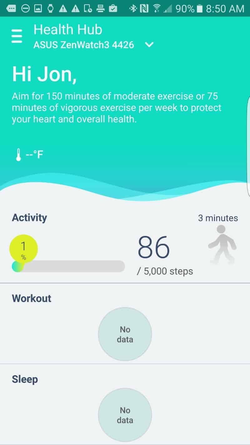 ZenFit App Screenshot
