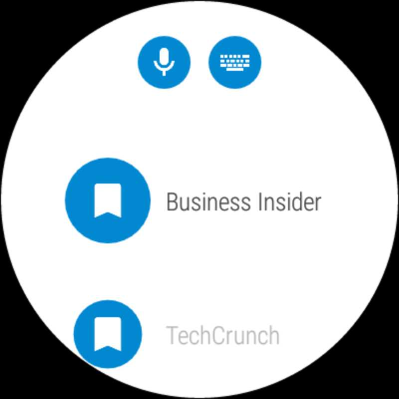 WIB Internet Browser App for Android Wear