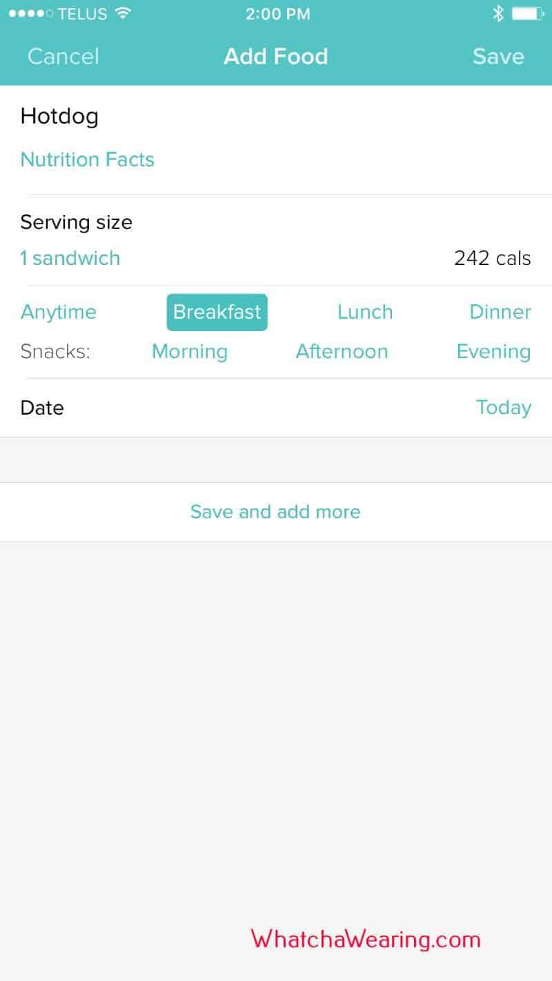 Fitness/Health App for Fitbit Blaze.